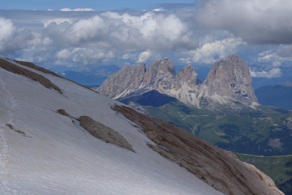 Il Ghiacciaio della Marmolada rappresenta il più esteso ghiacciaio delle Dolomiti