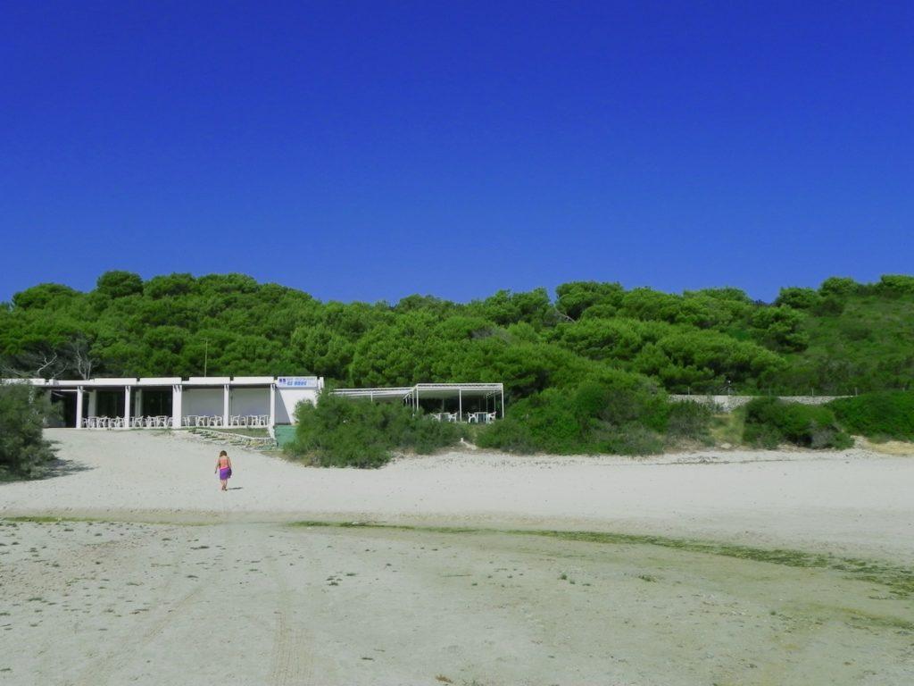 La più famosa tra le spiagge di Minorca si chiama Cala Turqueta