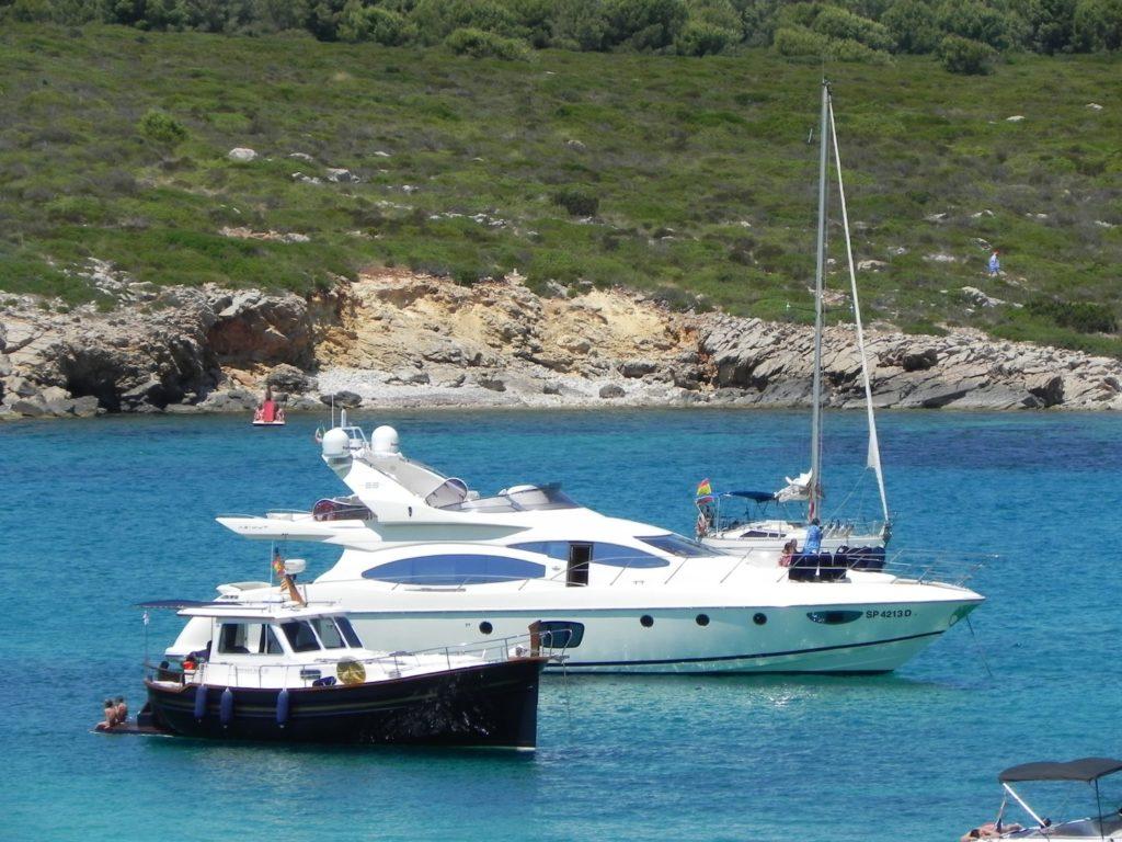 BArche vicino a Puerto Addaya - Minorca
