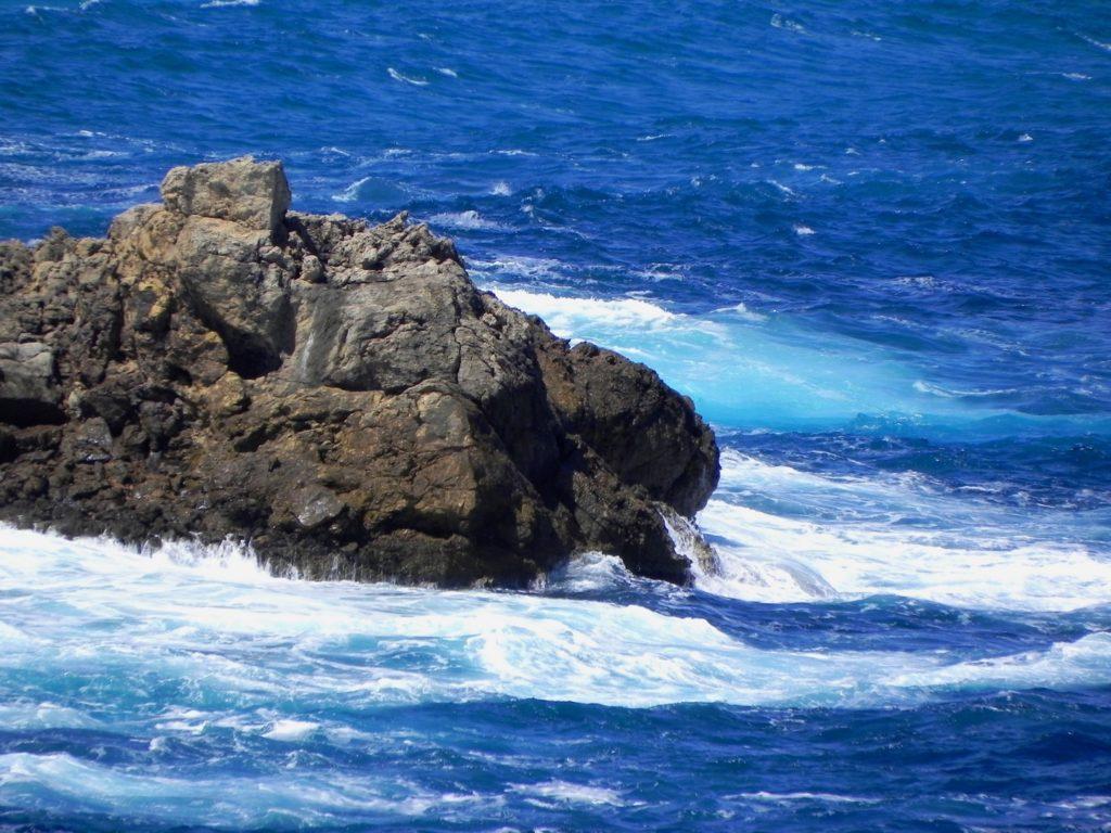 Mare mosso alle isole Baleari - Spagna