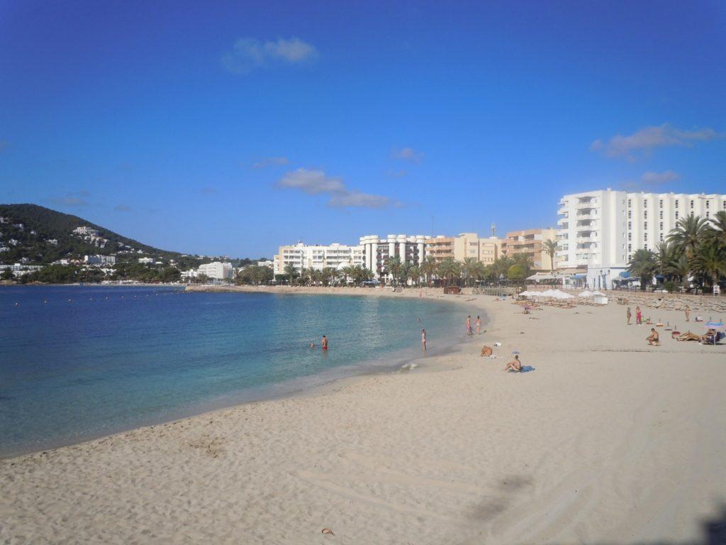 Spiaggia di sabbia a Ivissa - Ibiza