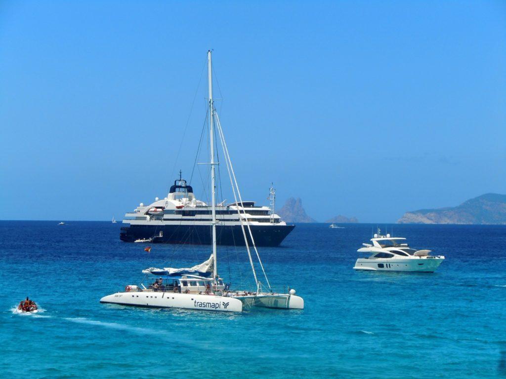Yacht di lusso a Ibiza