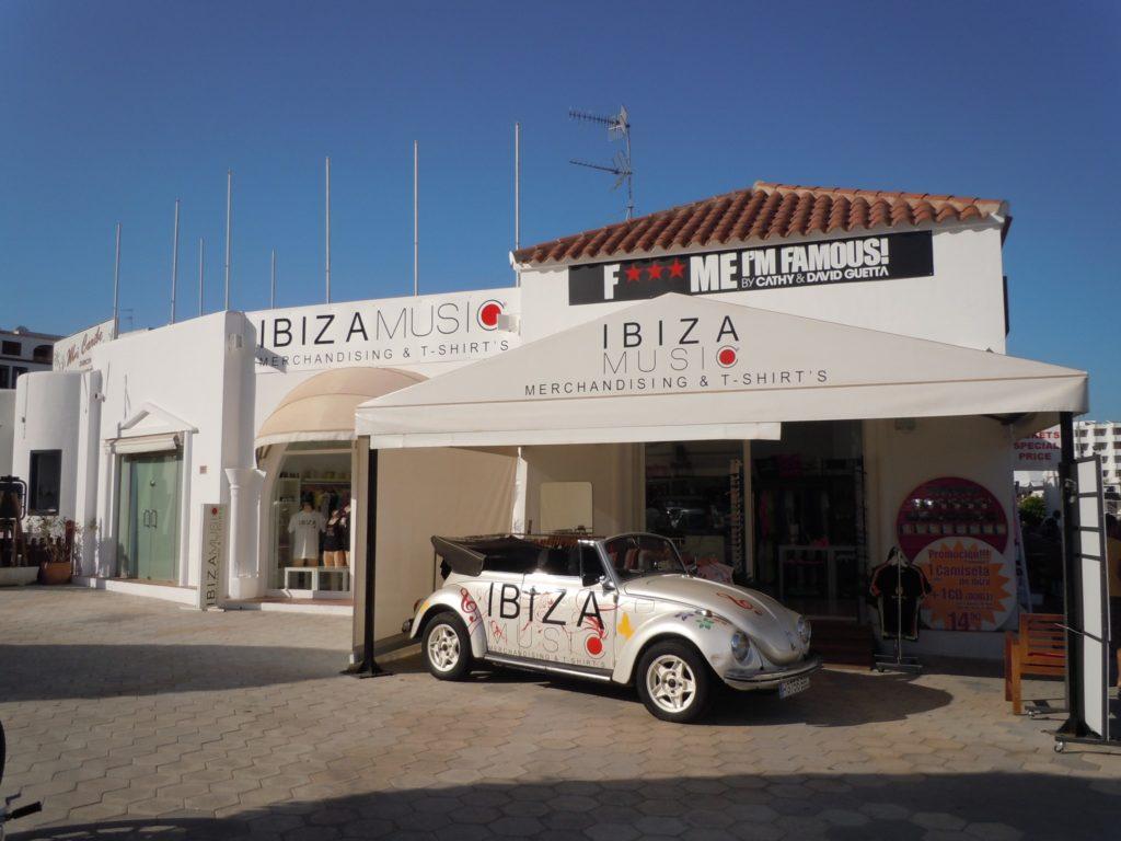Negozio di souvenir a Ibiza