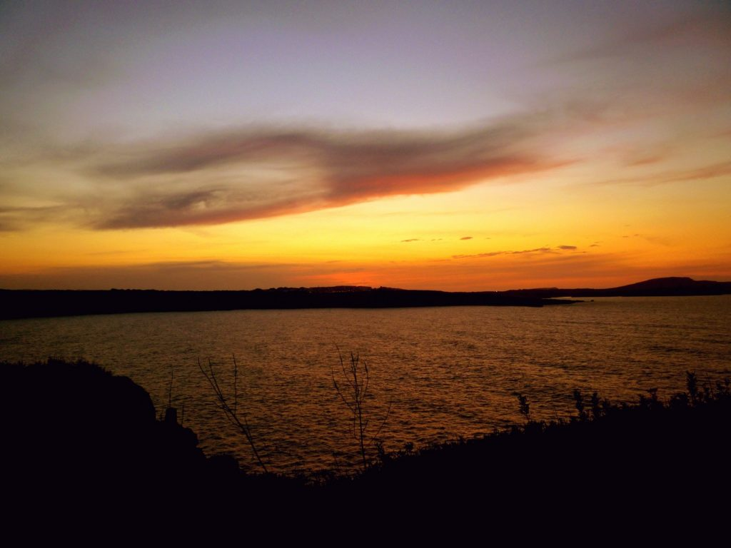 Foto di incantevoli tramonti alle Baleari