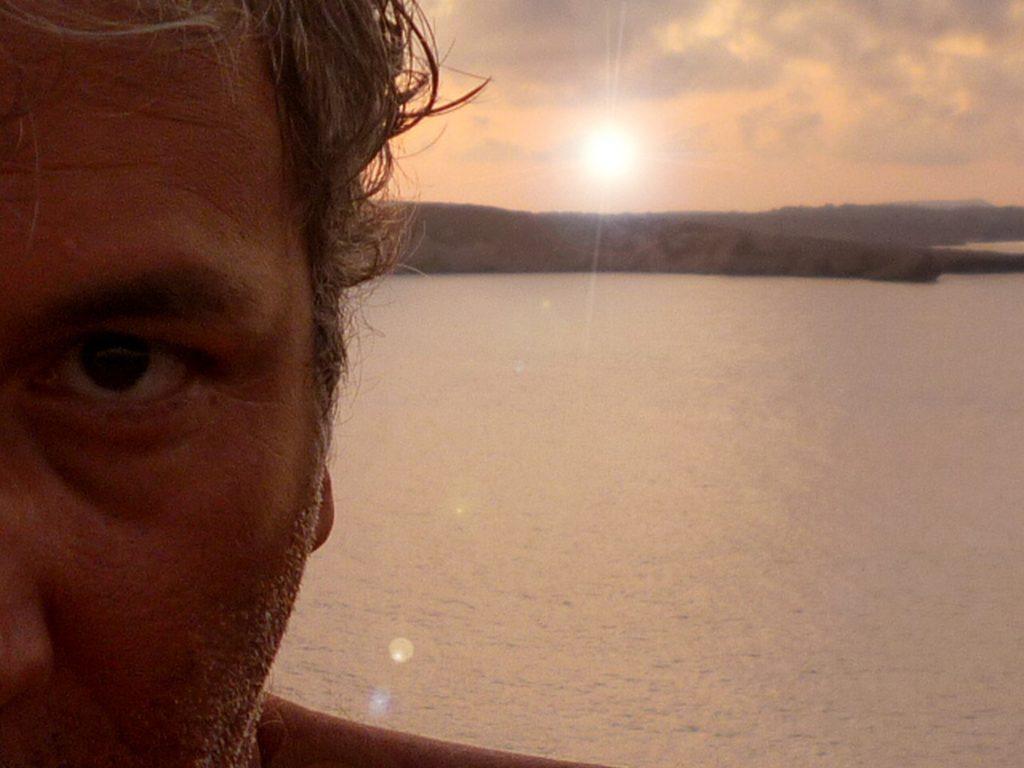 Selfie al mare di Menorca - Isole Baleari
