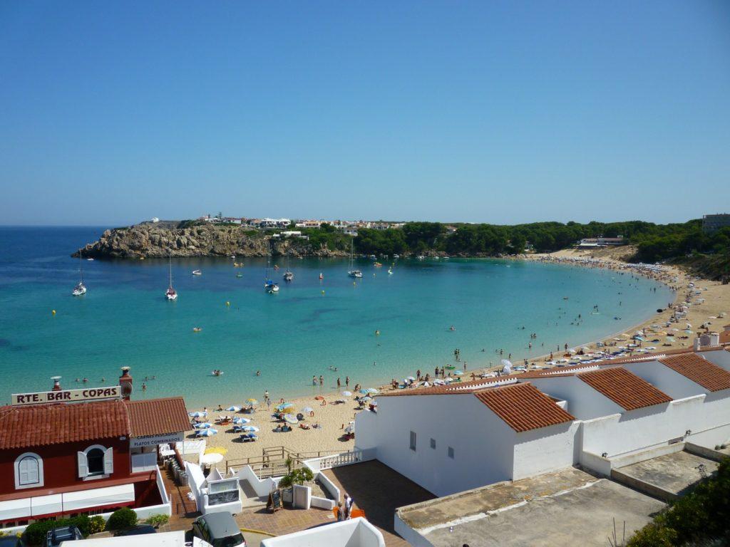 Arenal d'en Castell è una spiaggia nella zona nord di Minorca