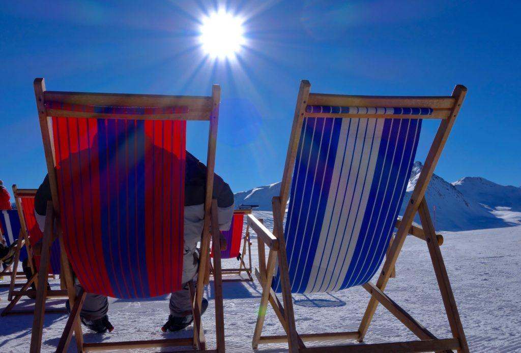 Abbrinzarsi d'inverno sulle montagne di Livigno