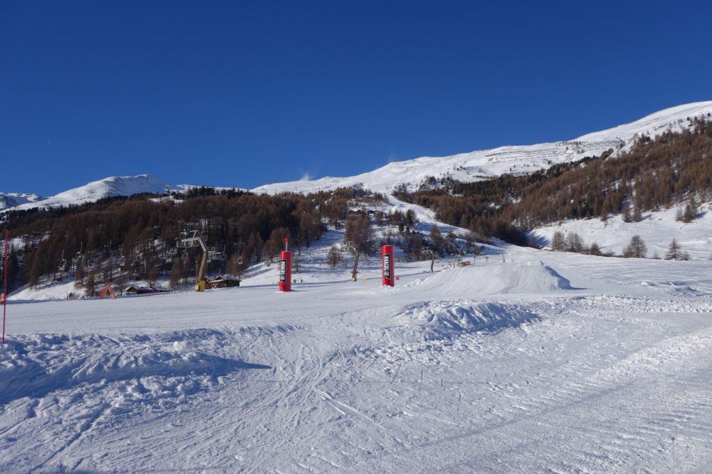 Foto di piste da sci a Livigno