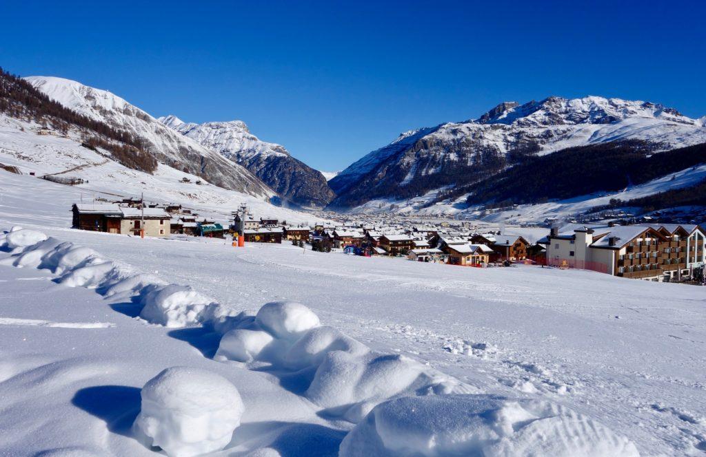 Foto case di Livigno in inverno