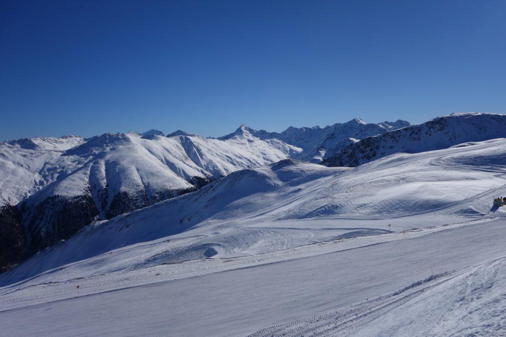 Foto panoramica dal carosello 3000 Livigno