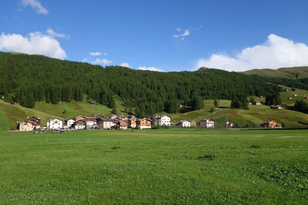 Immagini di estate a Livigno