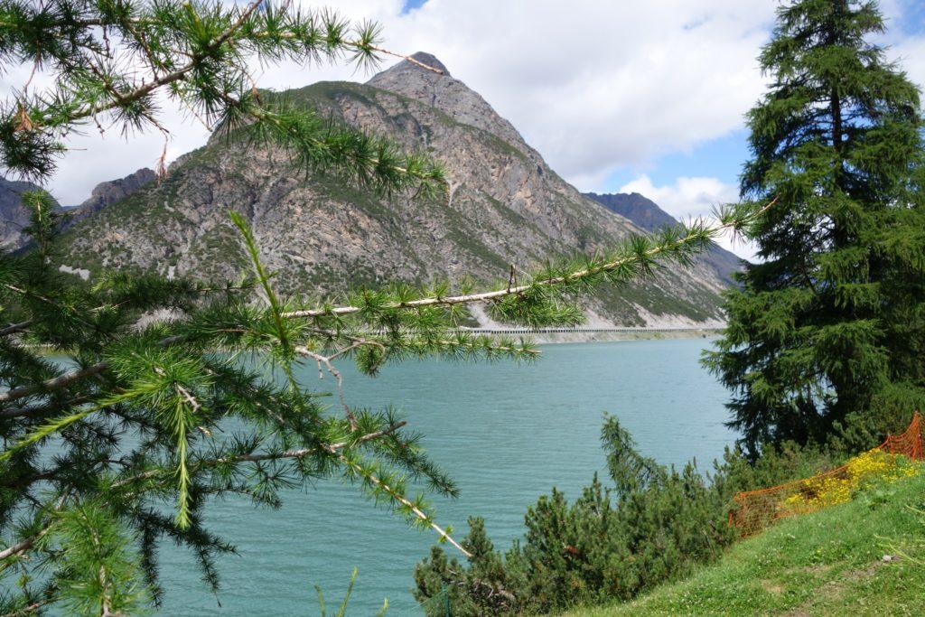 Foto del lago di Livigno