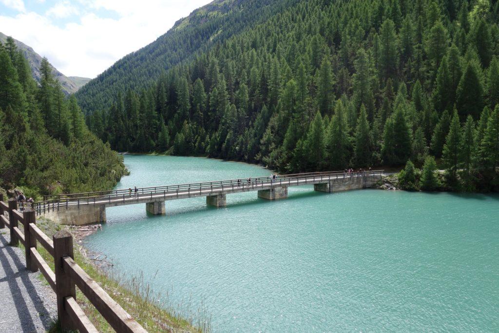 Estate a Livigno - foto del lago