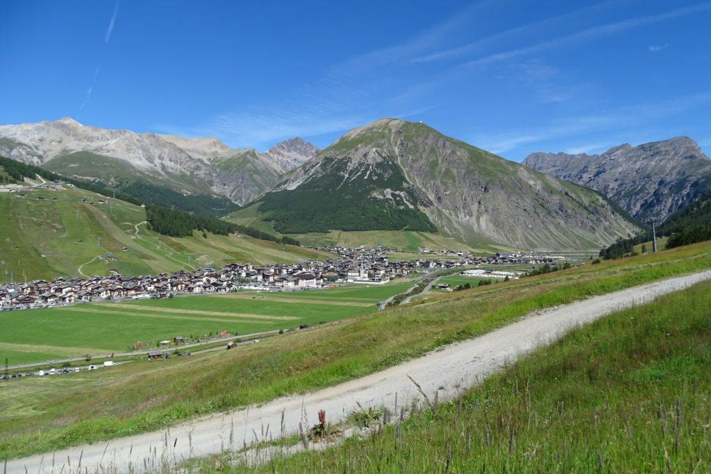 Foto panoramica di Livigno