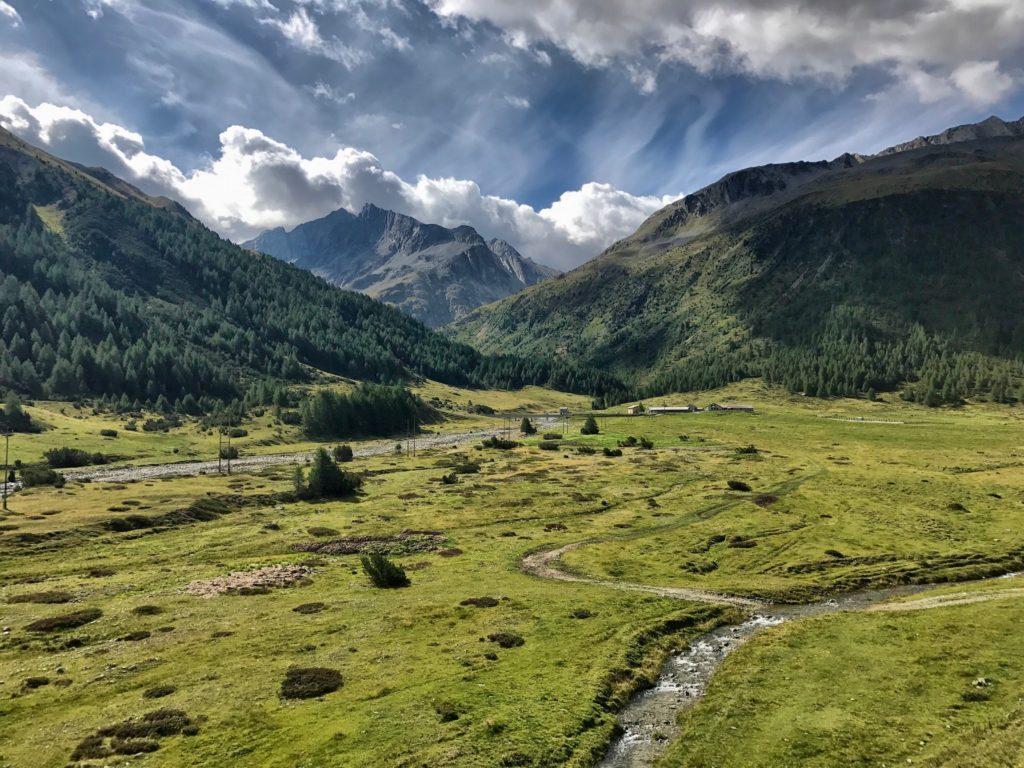 Panorama delle montagne che possiamo trovare a Livigno