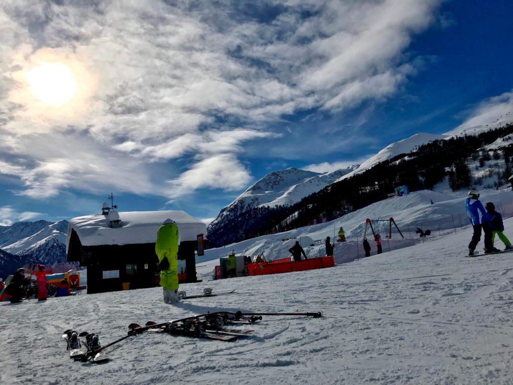 Foto invernali di Livigno – Pista di sci